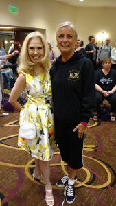 Mrs. Janice Barringer and Miss Cindy